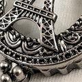 Eiffel Tower Keychain, Silver, swatch