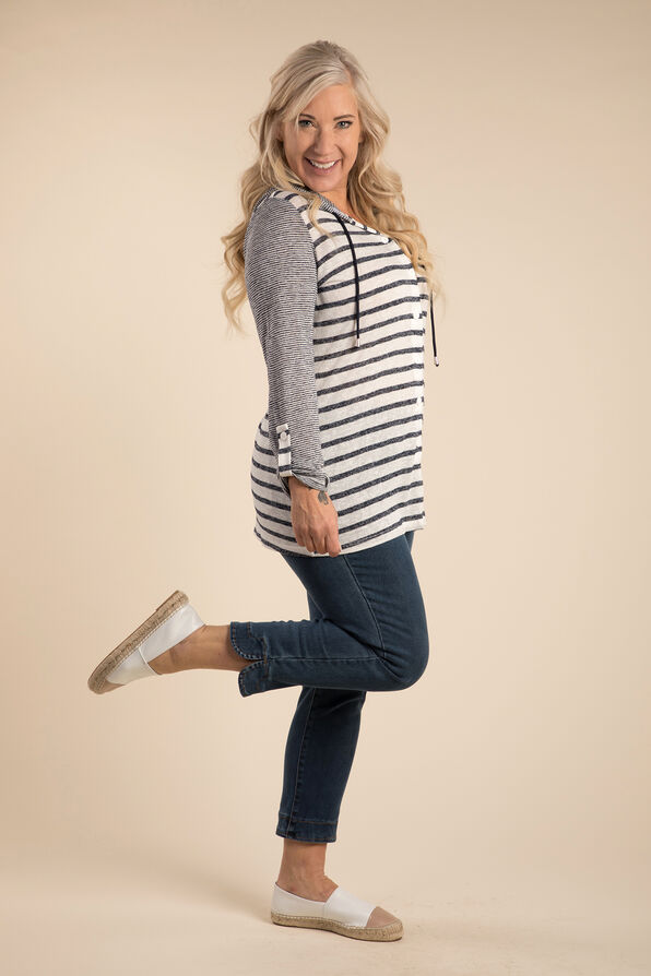 Yacht Ready Top, Navy, original image number 2