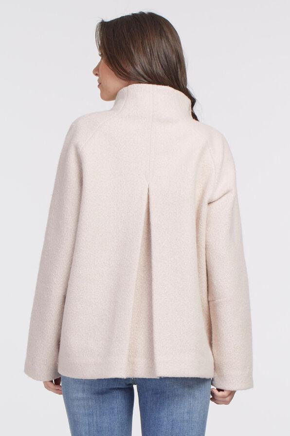Latte Outerwear Jacket, Cream, original image number 1