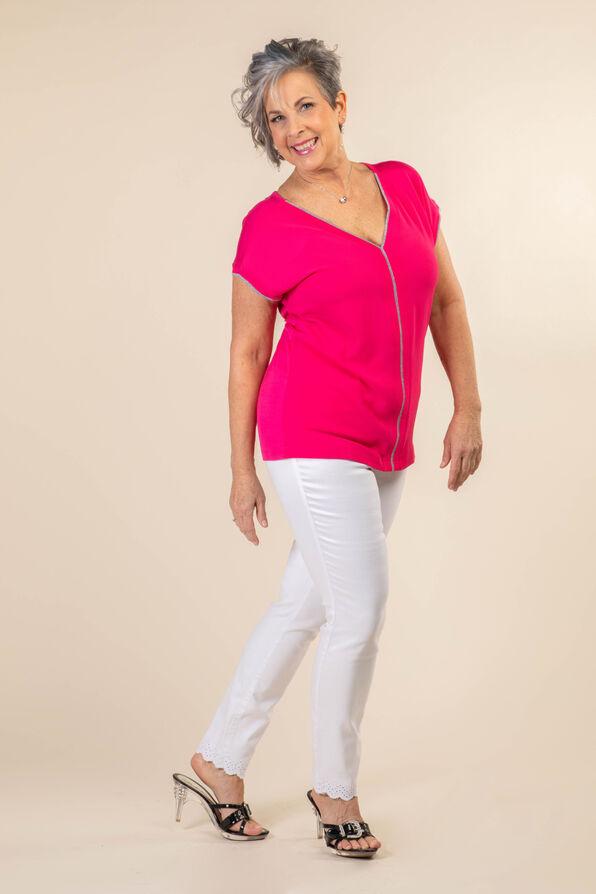 Silver Lining Top, Pink, original image number 1