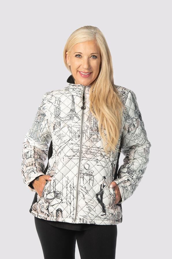 Premium Puffer Jacket, White, original image number 0