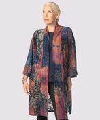 Vintage Velvet Kimono Cardi, Multi, original image number 2