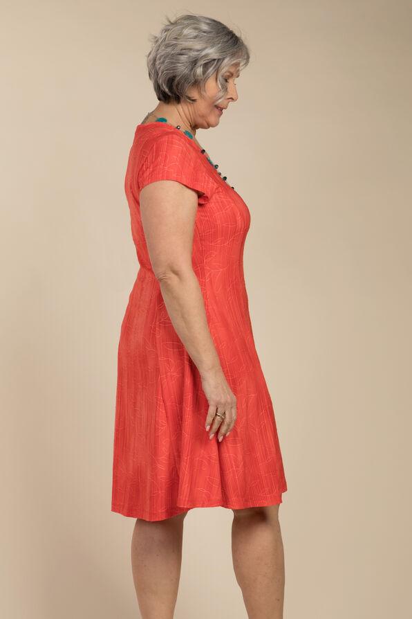 Adeline Shift Dress, Coral, original image number 2