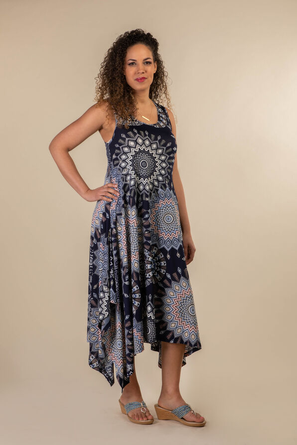 Beach Comber Sun Dress, Blue, original image number 0