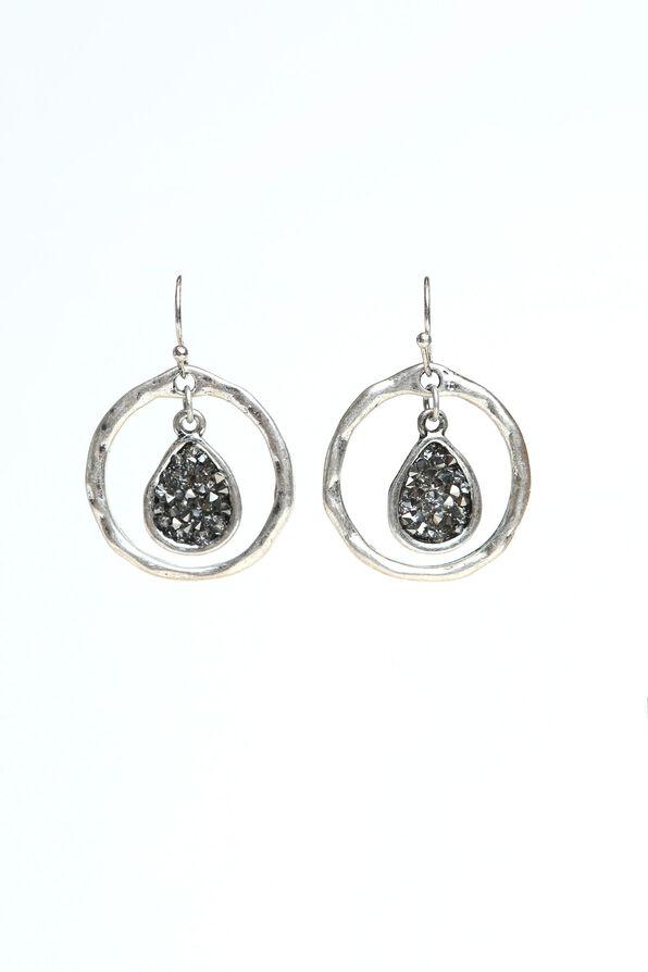 Elegant Earrings , Silver, original image number 0