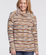 Dream Cowl Sweater, Rust, original image number 0