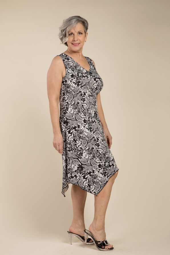 Ocean Shade Sleeveless Dress, , original image number 0