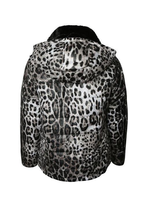 Reversible Leopard Print Jacket , Multi, original