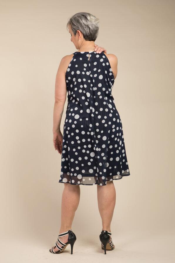 Summer Shimmer Dress , Navy, original image number 1