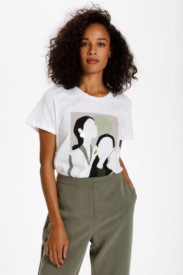 Faceless Metallic T-Shirt, , original image number 1