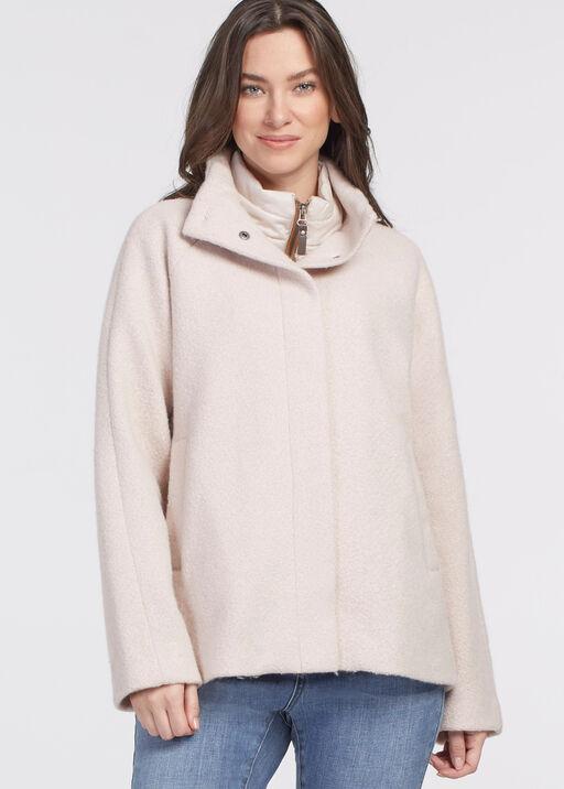Latte Outerwear Jacket, Cream, original