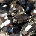 Beaded Bracelet, Black, swatch