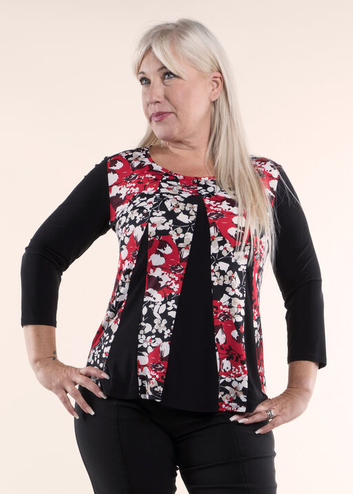Tunic Top Fit and Flare, , original