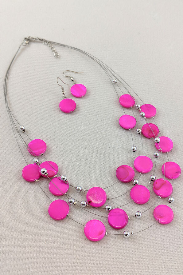Candied Necklace and Earring Set, , original image number 2