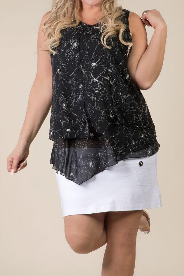 Florence Top, Black, original image number 2