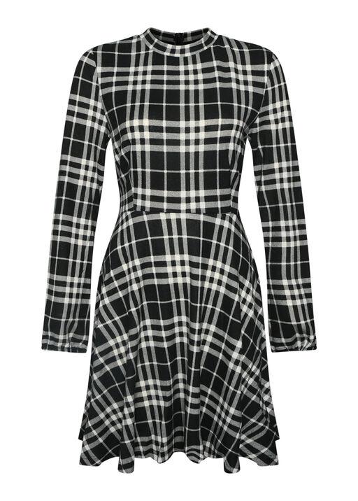 Plaid Sweater Dress , , original