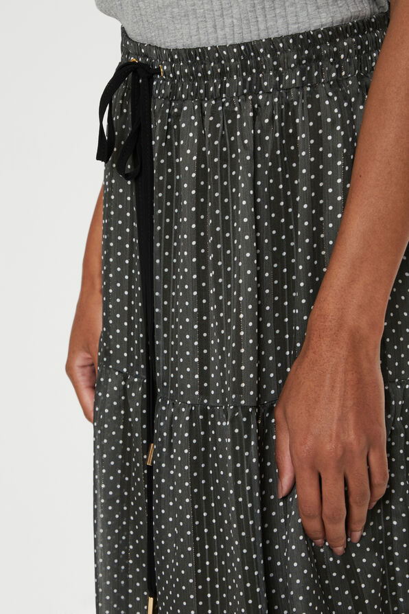 Agnes Skirt Polka Dot Maxi, Green, original image number 3