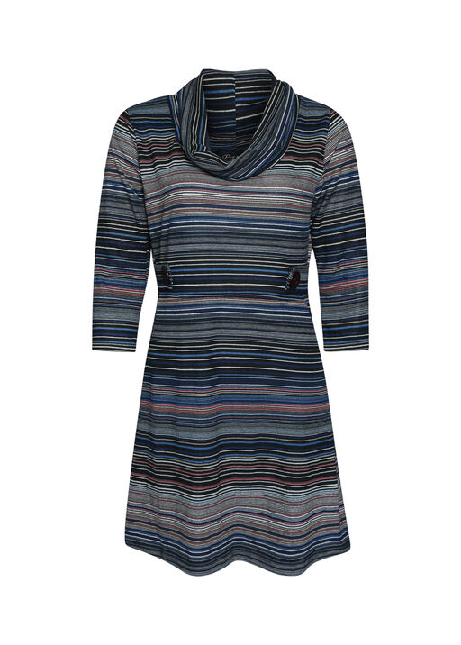 Striped Tunic with 3/4 Sleeves, , original