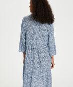 Kaffe Berna Amber Dress with 3/4 Sleeve, Blue, original image number 2