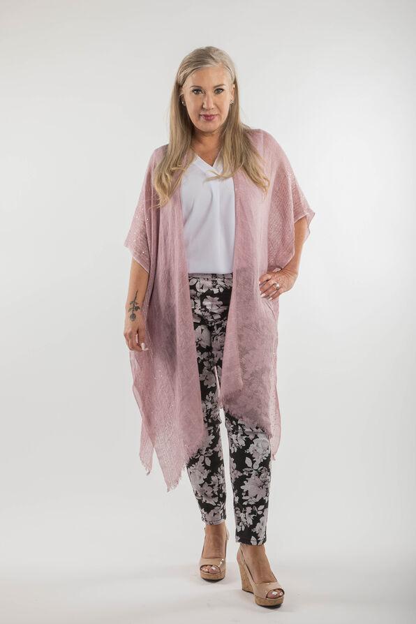 Cotton Kimono with Sequins, , original image number 3