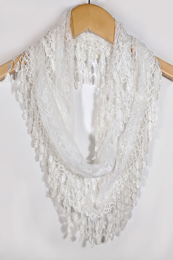 Infinity Lace Scarf, , original image number 2