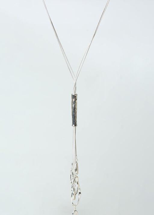 Hammered Metal Necklace, , original