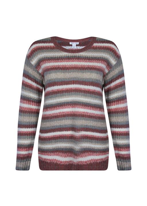 Auburn Long Sleeve Sweater, Rust, original