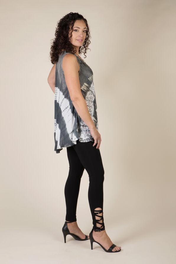 CrissCross Bling Legging, Black, original image number 1
