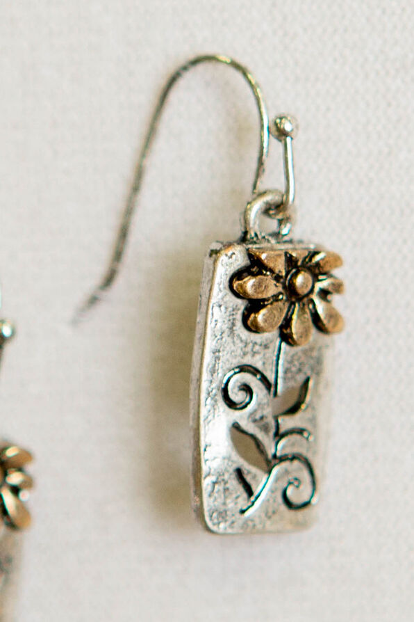 Posy Dangle Earrings, Multi, original image number 1
