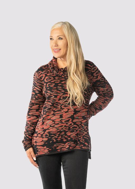 Spotted Sea Sweater, Rust, original