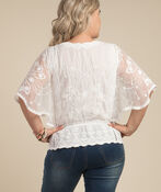 Aimee Blouse, Ivory, original image number 1