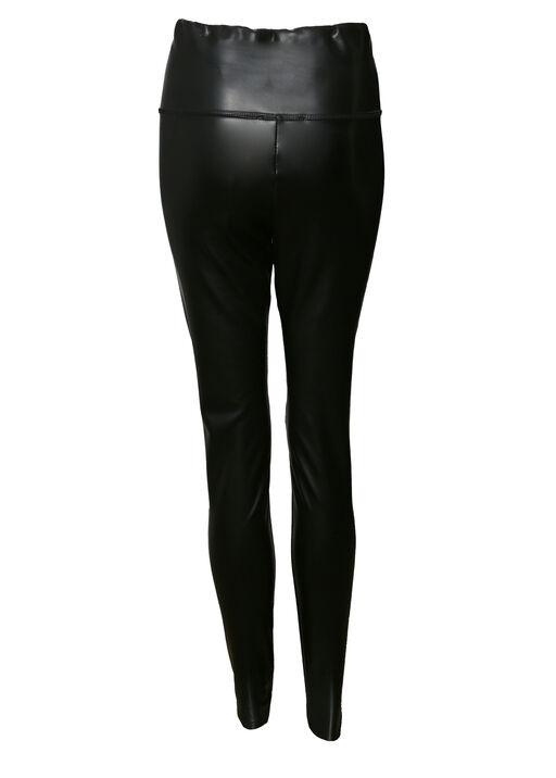 Faux Leather Legging , Black, original