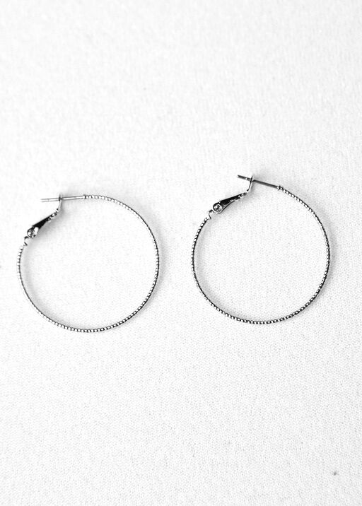 Diamond Cut Hoops, , original