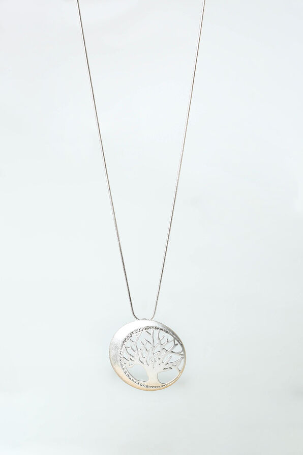 Sparkling Tree Pendant, Silver, original image number 0