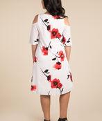 Poppy Impressions Dress, White, original image number 1