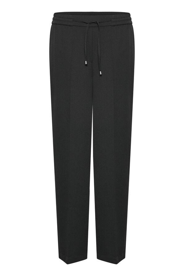 Lara Wide Pant, Black, original image number 4