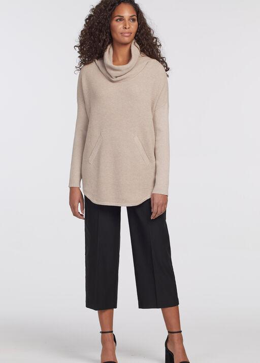 Auburn Tunic Sweater , Beige, original