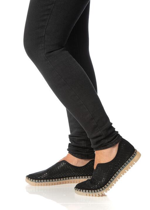 Diamond Tulip Shoes, Black, original