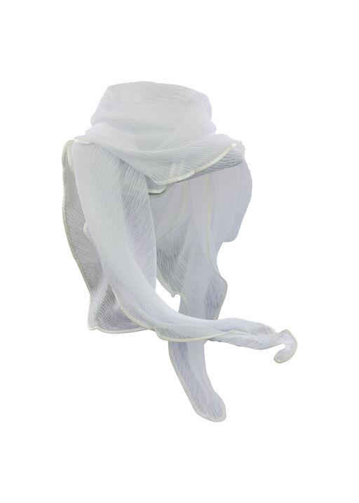 Crinkle Fabric Scarf, , original