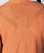 Easy-Rusty Longline Cardi, Rust, original image number 2