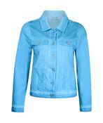 Jacket with Mesh Shoulder Accent, , original image number 2