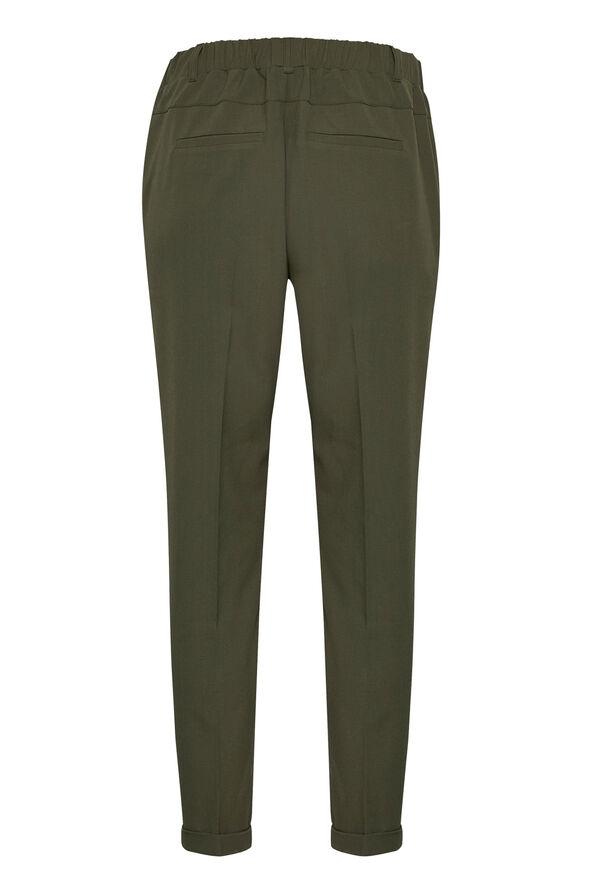 Kaffe Nanci Jillian 7/8 Pants Trouser Style, Green, original image number 1