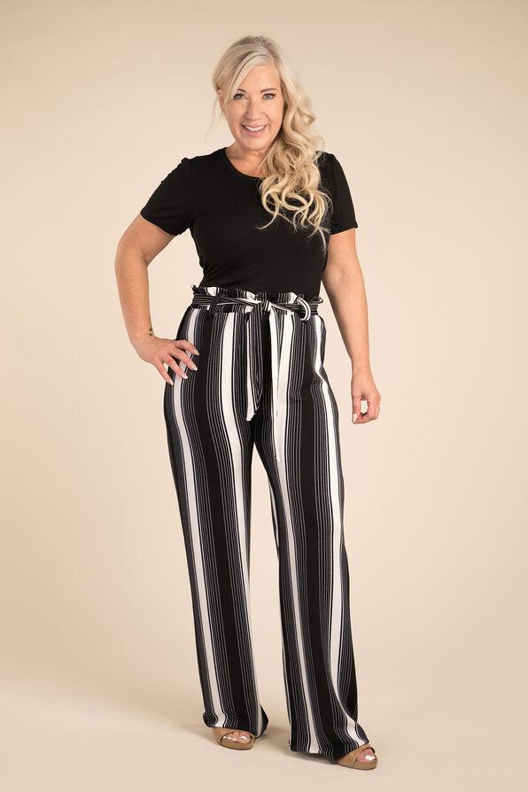 Lean Lines Pant, Black, original image number 1