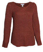 Keira Shaker Stitch Sweater, , original image number 1