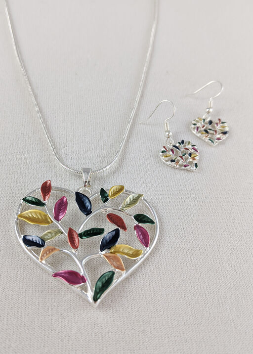 Love of Nature Necklace and Earrings Set, , original