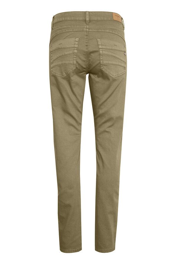 Cream Coco Fit Lotte Jeans, Taupe, original image number 1