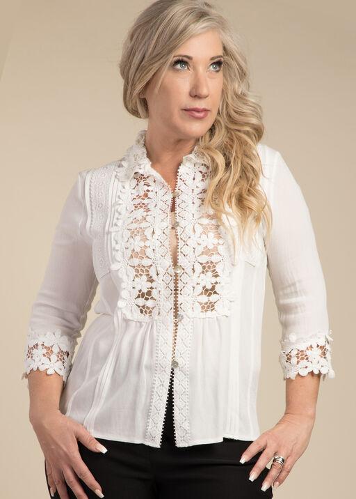 Lace Adorned Blouse, , original