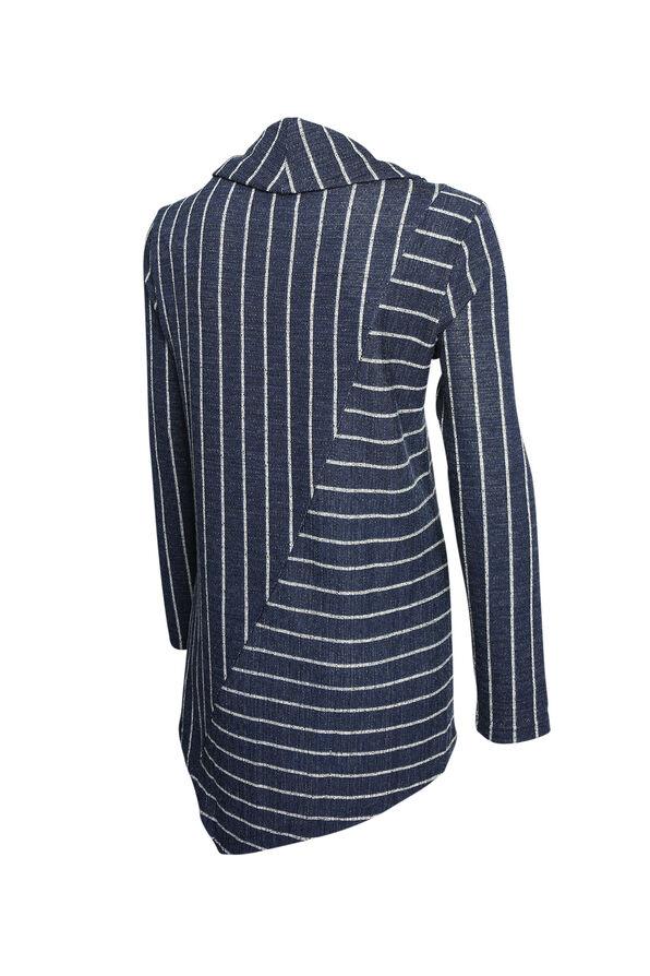 Palmer Striped Tunic, Navy, original image number 1