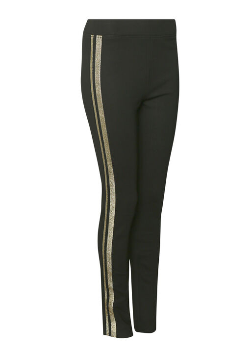 Gold Stripe Pull On Pant , Gold, original