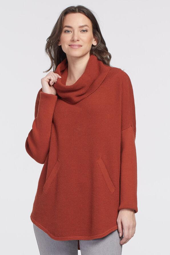 Auburn Tunic Sweater , , original image number 2